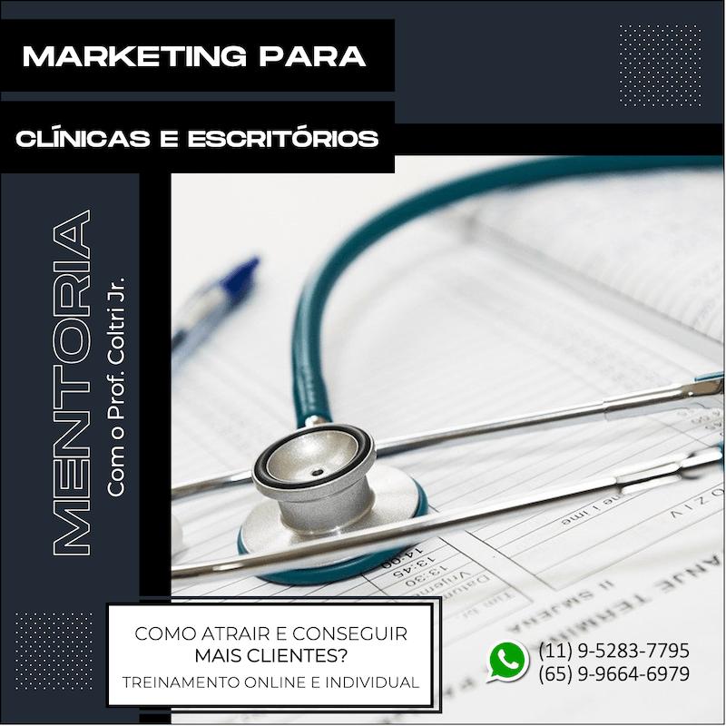 Marketing para clínicas e escritórios