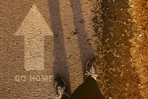 Voltando para casa
